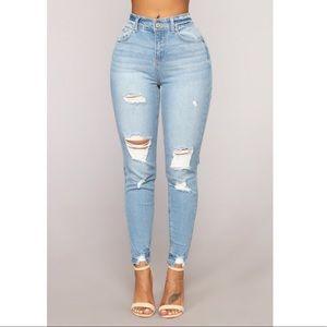 Fashion Nova That's All Me Skinny Jeans